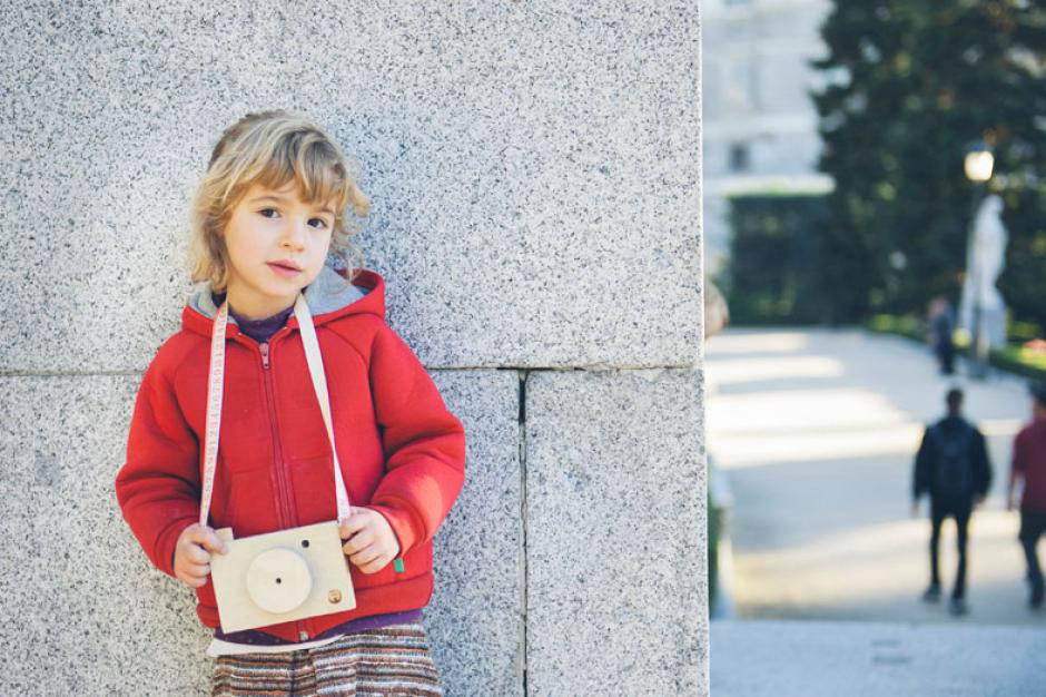 wood camera for kids