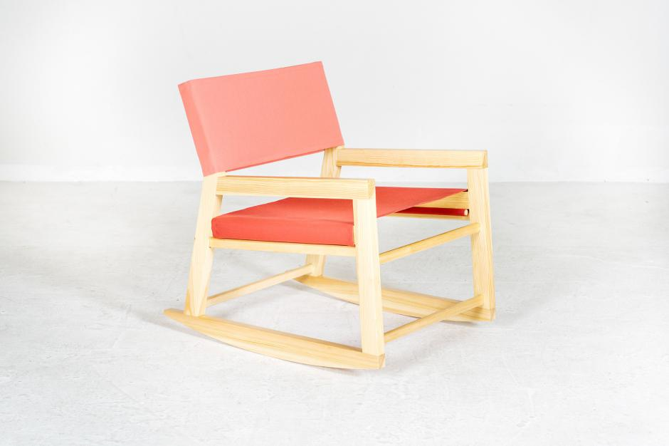 wood lounge chairs and rocking chairs with awning fabric